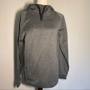 Nike Dri-Fit Sweatshirt Hoodie in Grey
